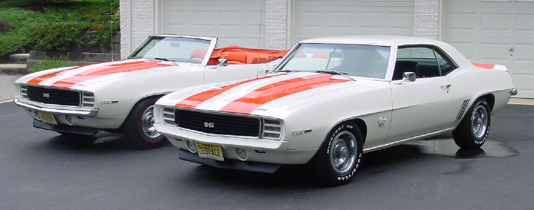 1969 Camaro Z10 and Pace Car
