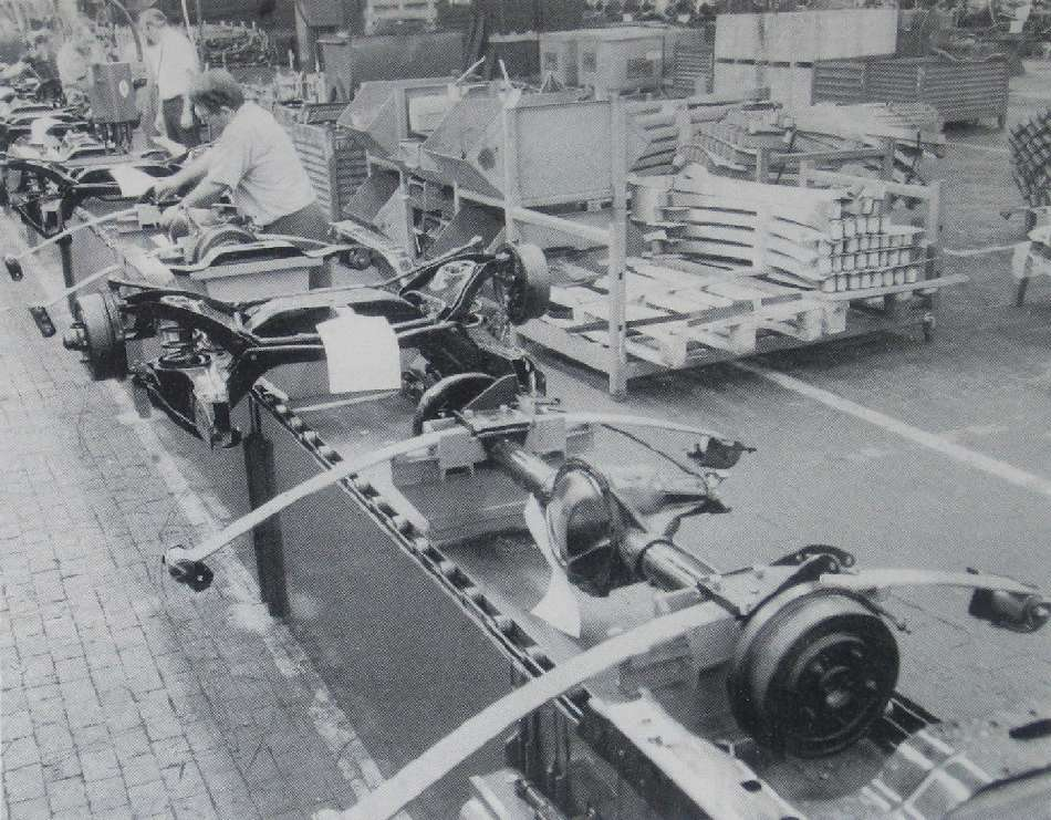 Chassis Assembly Line, 1967