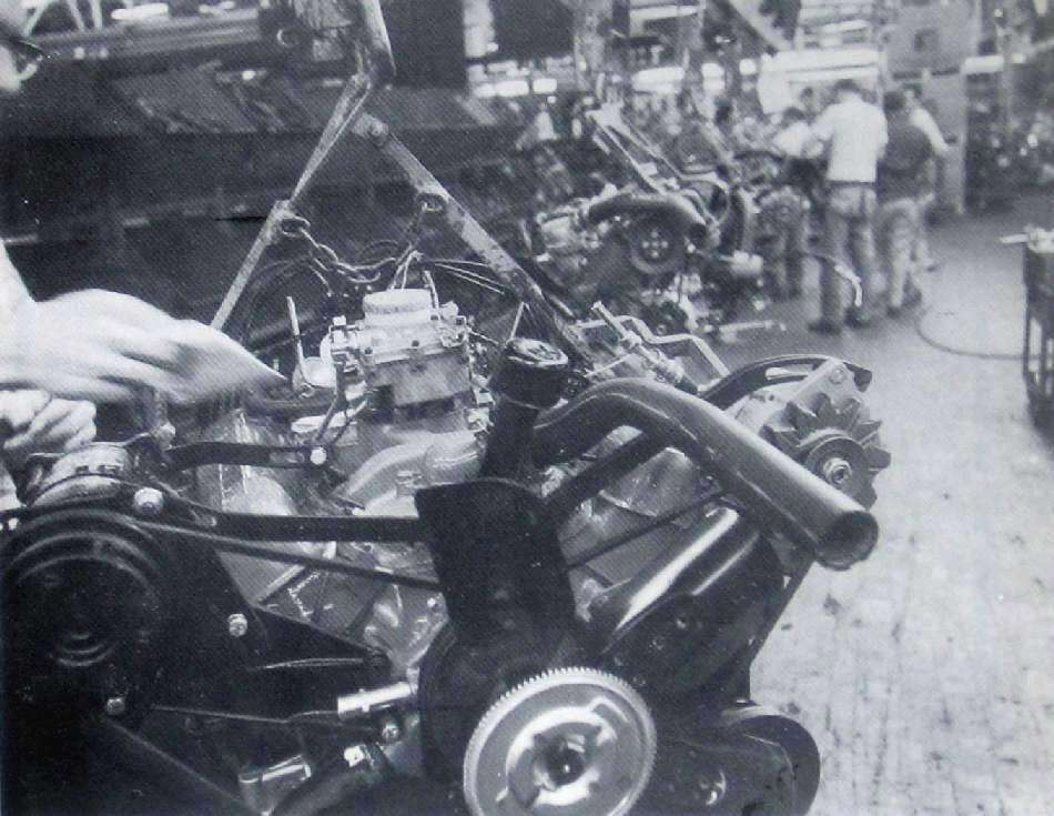 Engine Dress Line, 1967 LOS plant