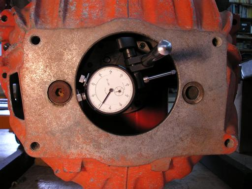 Dial Indicator on Crankshaft