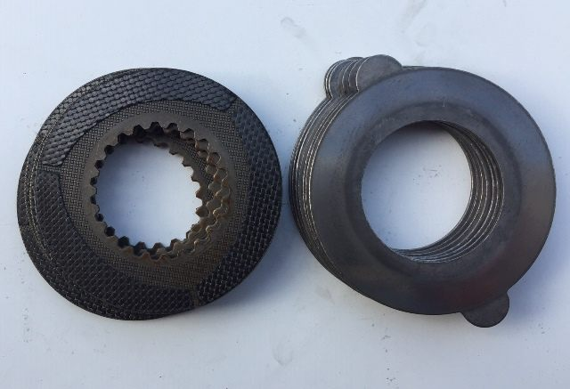 Carbon fiber clutch pack