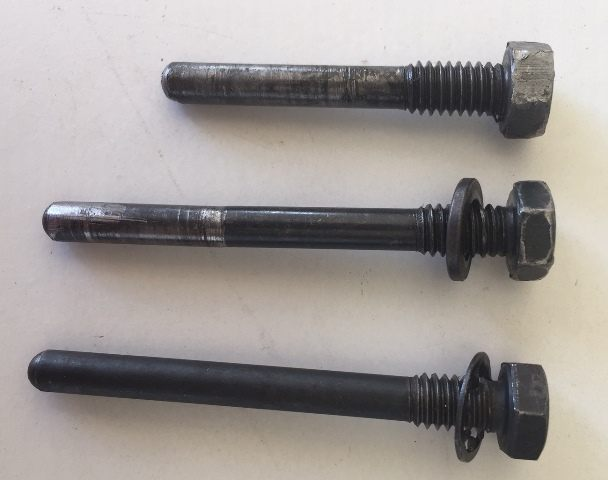 Cross shaft bolts