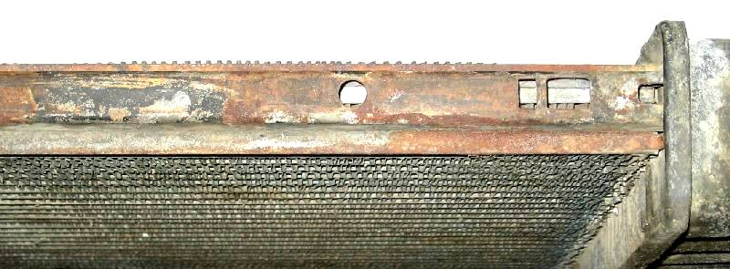 1969 2-Row Core Top Plate