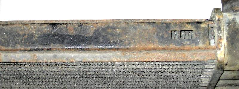 1968 3-Row Core Top Plate