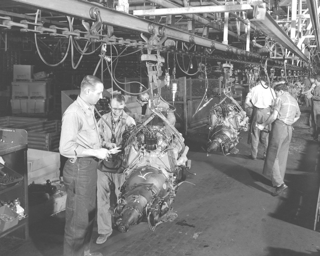 Engine Dress Line 1955