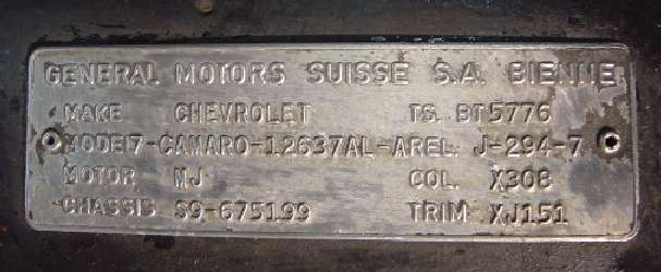 Swiss Trim Tag