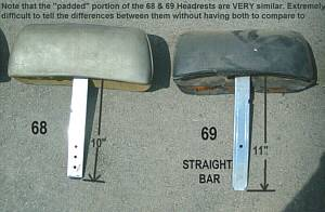 Headrest comparison