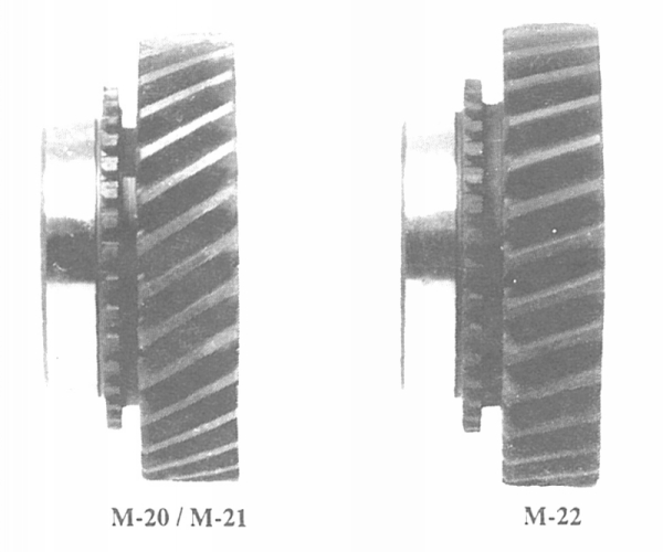 Muncie 4-Speed Transmission Gear Angle Comparison