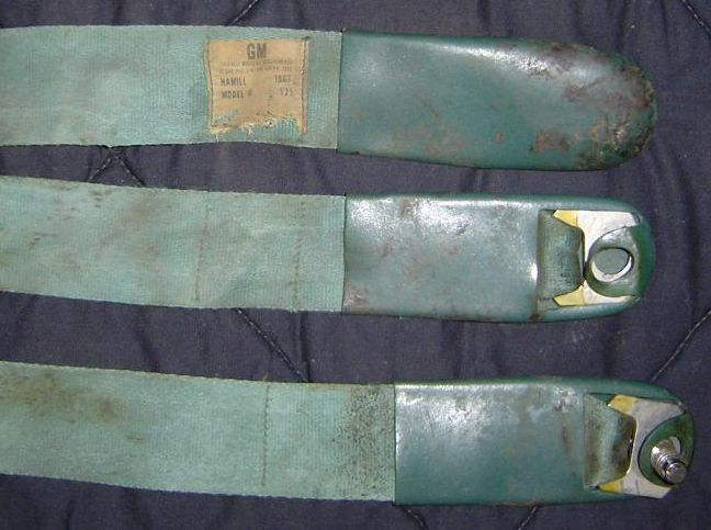 Early 1967 belts