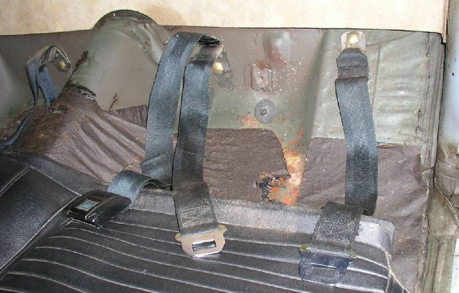 Rear belts