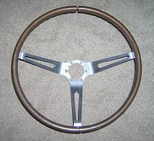 1963-1966 Corvette Walnut Steering Wheel