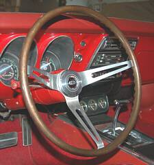 1967 N34 Walnut Steering Wheel
