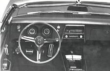 Early 1967 Camaro Publicity Photo