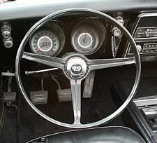 "1967 1967 Standard Steering Wheel with ""SS-350"" horn cap"
