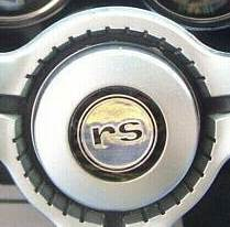 1968 Standard Steering Wheel RS Horn Cap