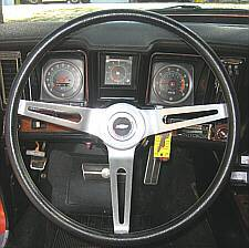 "Optional NK1 ""Cushioned Rim"" Steering Wheel"