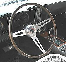 Early 1969 Walnut Steering Wheel