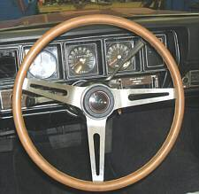 "1971-1975 Buick GS color matched 15"" Rallye Steering Wheel"