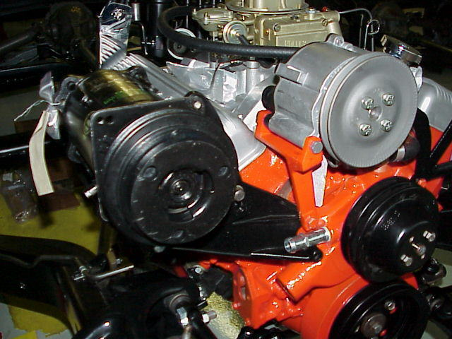 Engine with AC and A.I.R